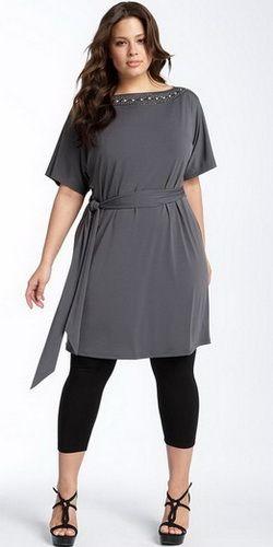 Черное платье для полных » Сайт вопросов для мам