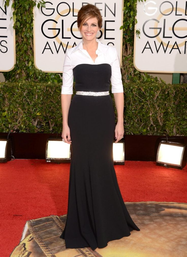 Julia Roberts opted for business casual over red carpet glam in this Dolce