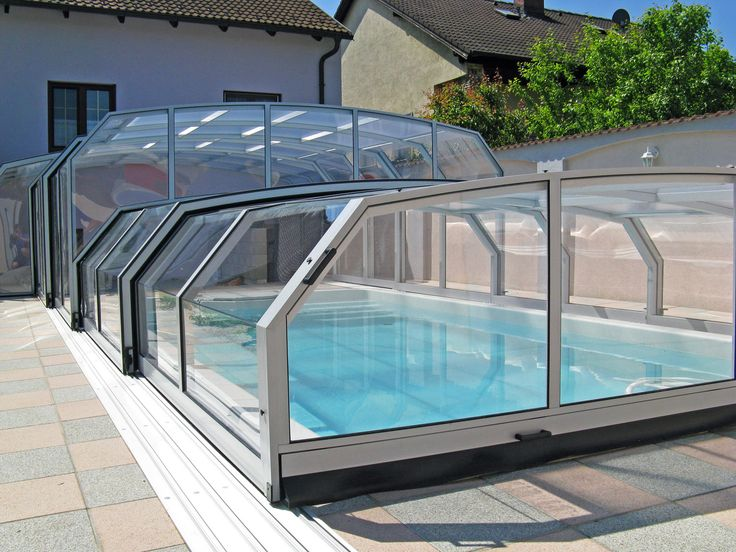 10 best pool builds where summer starts dave and linde 39 s for Abrisud pool covers