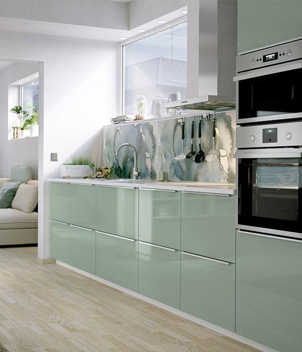Kallarp Cuisine Verte Decoration Interieure Cuisine Meuble De Cuisine Ikea