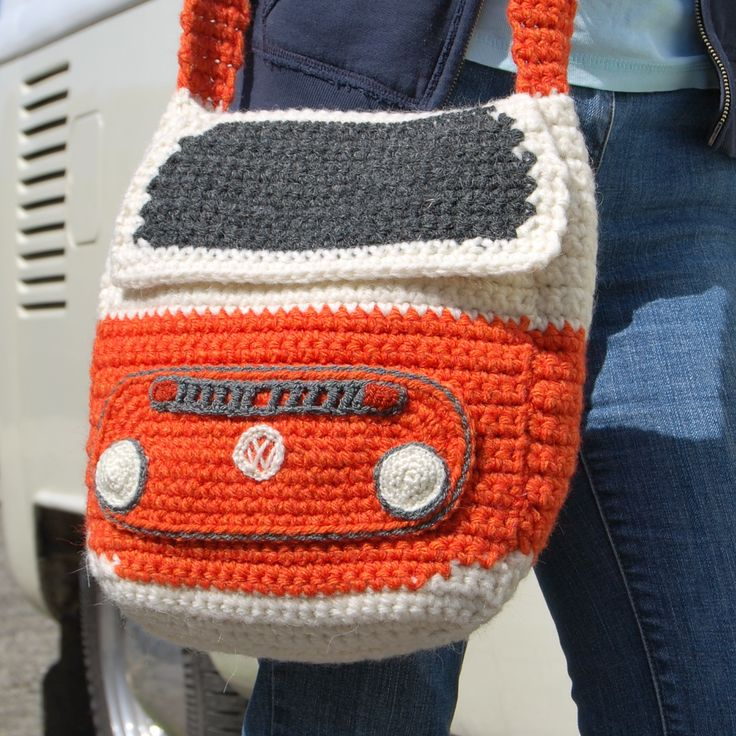 If you love the 1970s then why not make yourself a Campervan Shoulder Bag with our instantly downloadable crochet pattern!