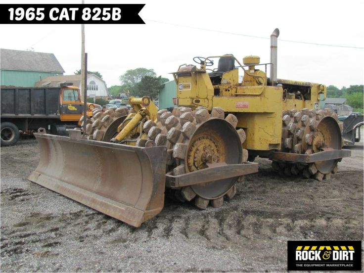 #ThrowbackThursday Check out this 1965 #Caterpillar 825B #Compactor! View more…
