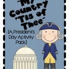 Over 90 pages of President's Day FUN:)