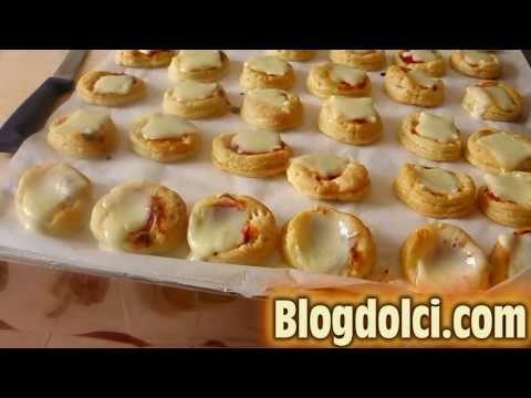 Pizzette e salatini la video ricetta