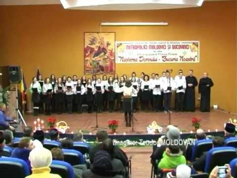 CORUL IMPERIALII SEMINARUL TEOLOGIC SF IMPARATI COLIND POPULAR - YouTube