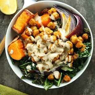 Sweet Potato Chickpea Buddha Bowl | 14 Recipes That We've Actually Tried and Loved This Month
