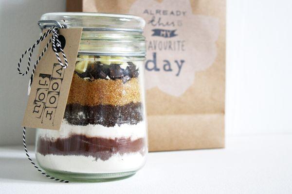 DIY – Een weckpot vol brownies