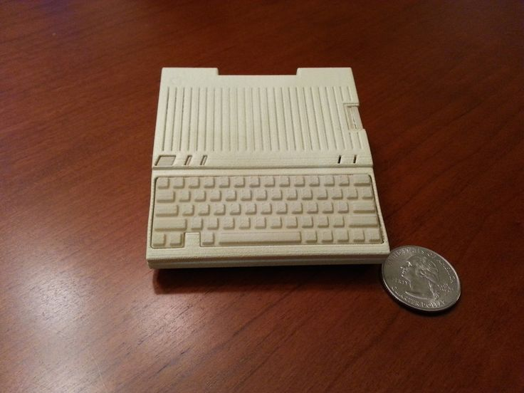 Apple IIc Raspberry Pi case - Model A+ by option8 http://thingiverse.com/thing:596976