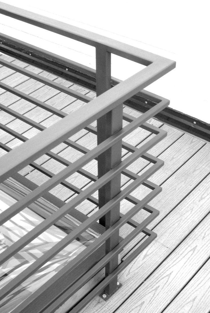 Custom Made Exterior Roofdeck Railing