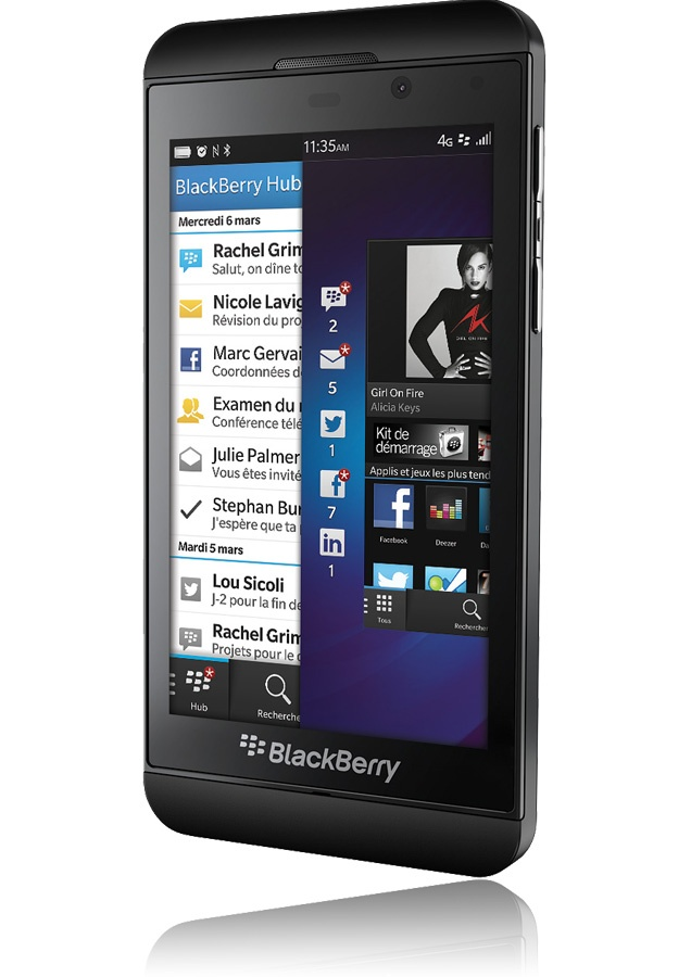how to find out if my blackberry z10 is unlocked