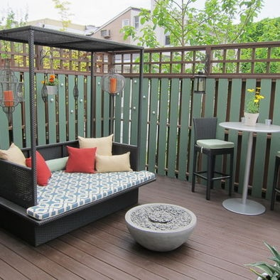 Small but person outdoor area