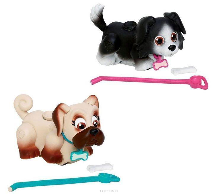 Pet Club Parade Игровой набор Собачки Бордер-колли и Мопс