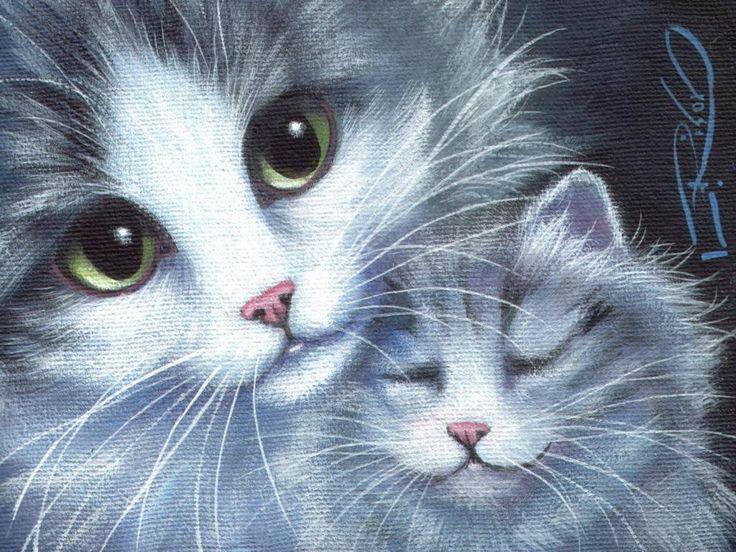 gratis Kittens wallpapers: http://wallpapic.nl/dieren/kittens/wallpaper-31844