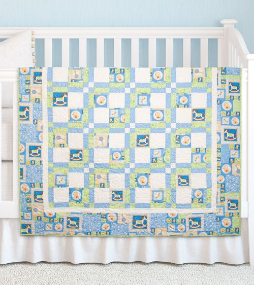 Baby Talk by Michele Crawford (from The Quilter Magazine April/May 2014 issue)