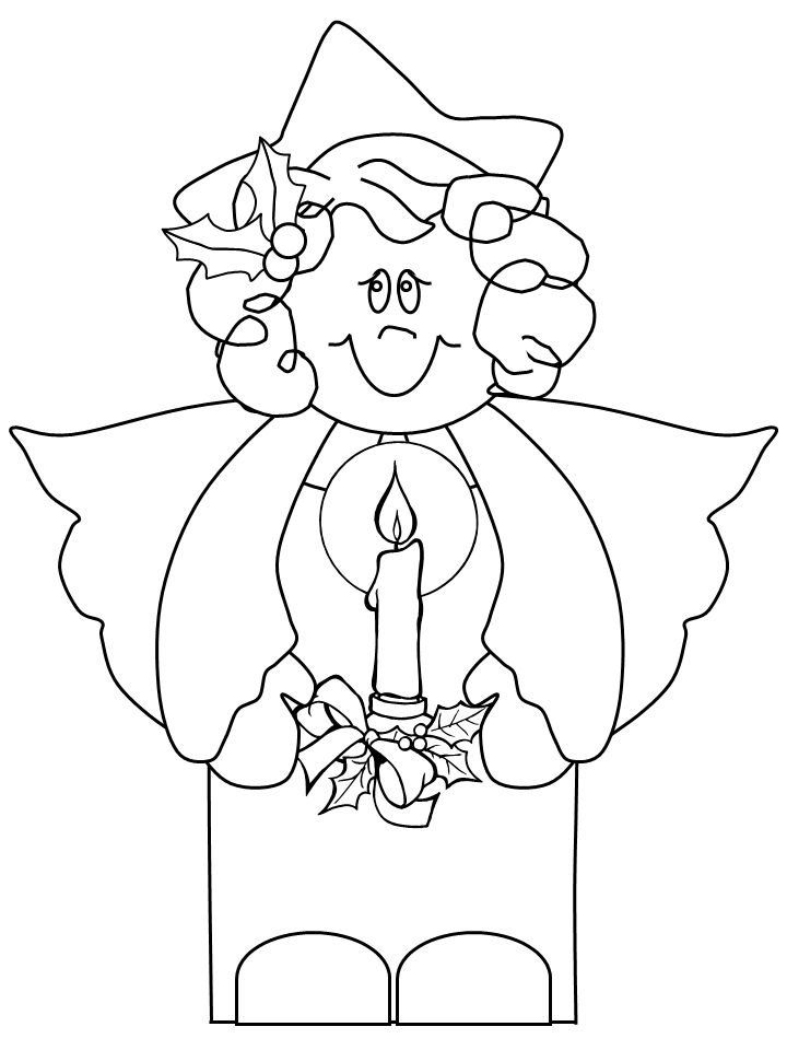 angel25 angels coloring pages - Esther Bible Story Coloring Pages