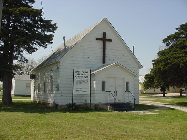 Maple Grove Bethel Church of God - Neodesha, Wilson County KS