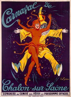 Carnaval de Chalon-Sur-Saone Giclee Print
