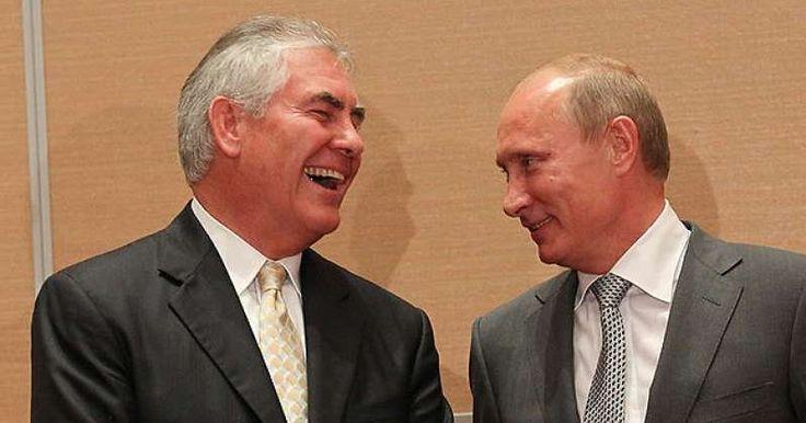 """""""Κεραυνοί"""" Πούτιν: «Ο Τίλερσον έχει μπλέξει με κακές παρέες και πήρε τον κακό δρόμο»"""