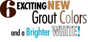 6 Exciting New LATICRETE Grout Colors for 2011!