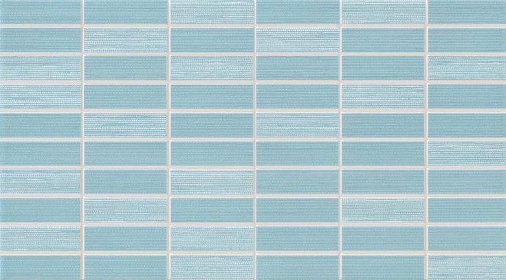 #Dado #Mosaik #Verve Azzurro 25x45 cm 301509 | Feinsteinzeug | im Angebot auf #bad39.de 20 Euro/qm | #Mosaik #Bad #Küche