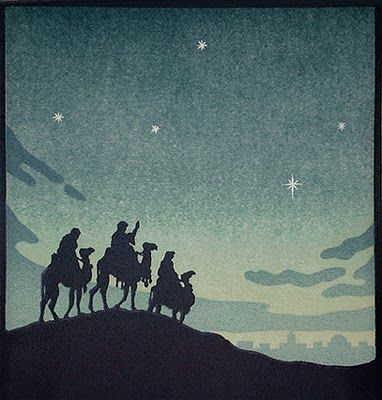 John Hall Thorpe - The Wise Men - 1925 EKDuncan - My Fanciful Muse: Nativity