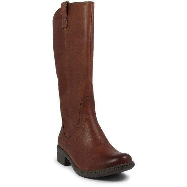 Women's Bogs 'Kristina' Waterproof Tall Boot (£165) ❤ liked on Polyvore featuring shoes, boots, cordovan leather, tall cowboy boots, leather cowboy boots, high boots, tall western boots and leather cowgirl boots