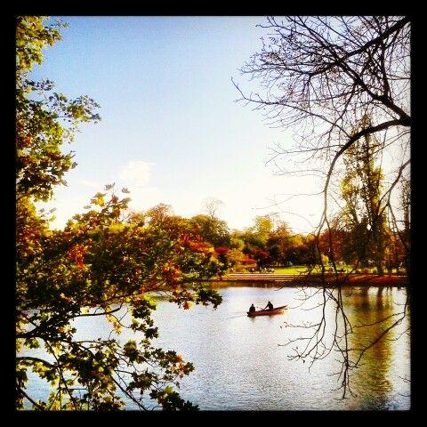 Lac Daumesnil #LacDaumesnil #paris #fall #Autumn #Automne