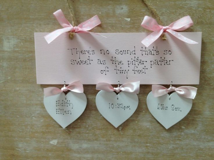 Personalised Baby  Girl Newborn Christening Baptism Naming Day Gift Sign...£11.99
