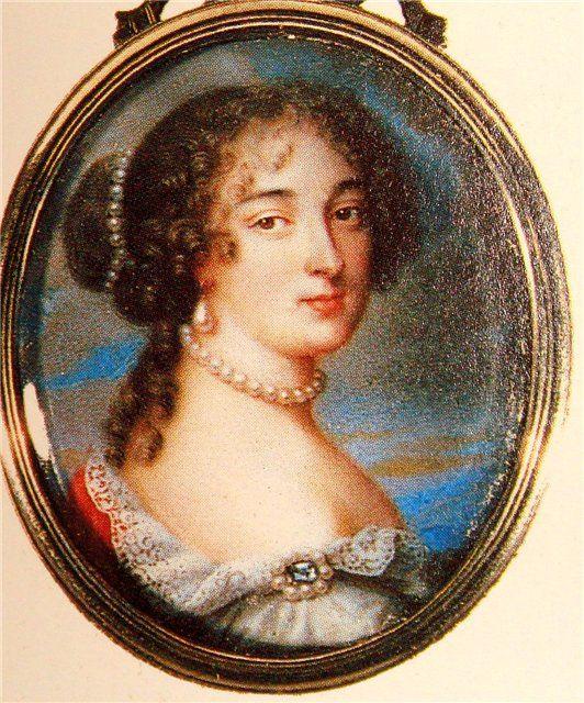 В июле 1683 года ушла из жизни королева Мария-Терезия.При дворе только и говорили о втором браке короля.Главной претенденткой на место покойной была молодая португ.инфанта.И король действит.женился,правда,на другой.В ночь с 9 на 10 окт.1683г. 45-летний Людовик XIV взял в жены вдову поэта Скаррона, маркизу де Ментенон,к-рой тогда было 48 лет.Они уже ок.10 лет нах-сь в любов. связи,но Ментенон пост.говорила о греховности их союза и просила отпустить ее в провинцию. Возможно,это лишь были…