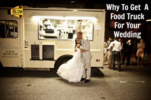 The possibilities are endless with a food truck at your wedding!