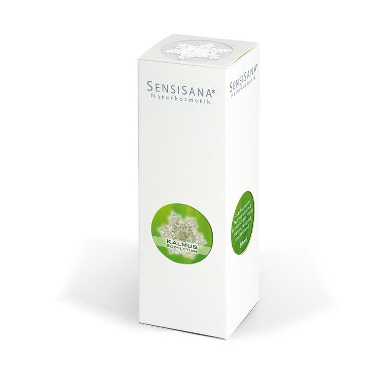 SensiSana Calamus body lotion 150ml/telové mlieko s extraktom z puškvorca