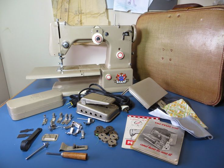 The Project Lady: Pfaff 330 Sewing Machine - Cleaning and Repair | Vintage Pfaff | Pinterest ...