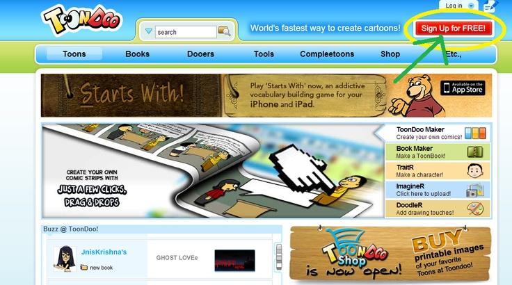 instrukcja tworzenia komiksów na Tondoo