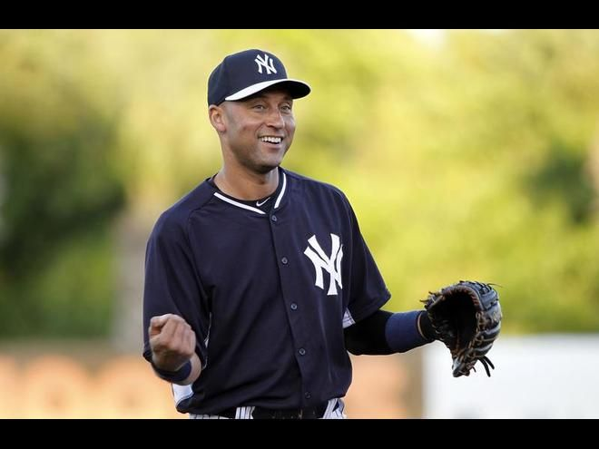 The heavens are crying ahead of Derek Jeter's farewell to Yankee Stadium | For The Win