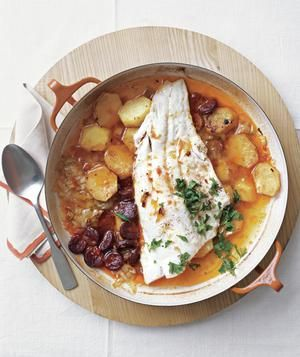 Baked Cod and Chorizo | RealSimple.com