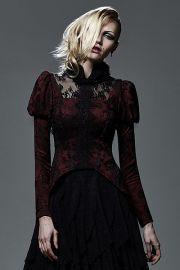 viktorianische jacke mit spitze und r schen viktorianische kleidung damen pinterest. Black Bedroom Furniture Sets. Home Design Ideas
