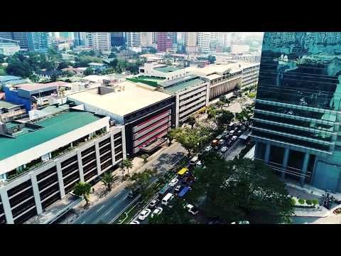 Makati, Manila - (Philippines) | Drone view - YouTube