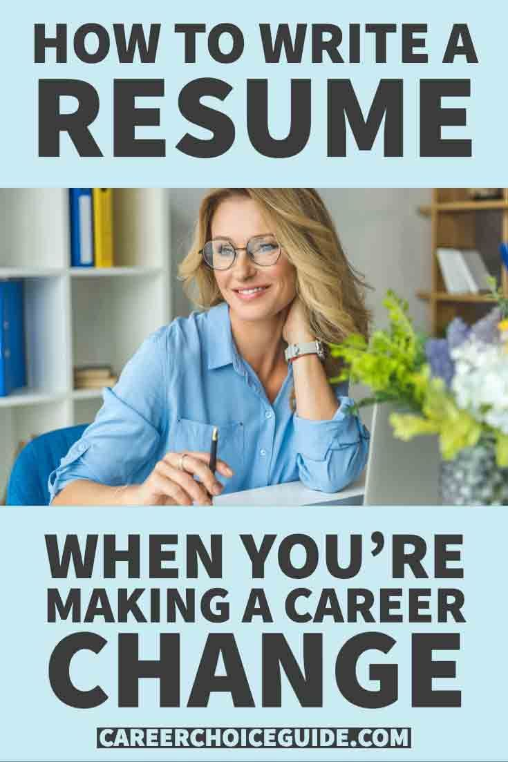 Career change resume sample how to make resume cover