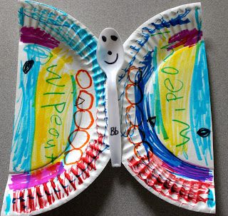Paper Plate Butterfly