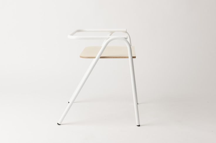 Half chair half stool, the Half Hurdle chair was designed as a simple chair for all occasions. With variations including a solid American oak seat, ply seat or B+W speckled seat, the Half Hurdle chair is made up of 2 simple tube components almost disconnected from each other, forming the backrest and legs. We worked …
