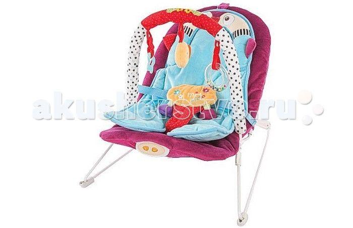 Жирафики Детское кресло-качалка Пингвиненок  Жирафики Детское кресло-качалка Пингвиненок с анатомической вкладкой, 3-мя развивающими игрушками, вибрацией и музыкой создан для младенцев. Этот замечательный шезлонг родители малыша оценят по достоинству, а ребенку в нем будет комфортно и интересно.  Кресло-качалка вполне устойчиво и комфортабельно. Матрас, выполненный в форме веселого пингвина, эргономичный, повторяет формы ребенка и распределяет центр тяжести, что важно для крепкого сна и…