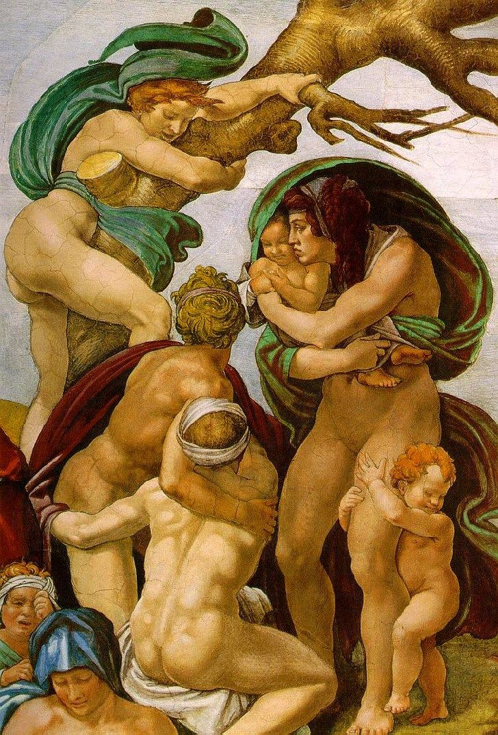 the life and art of michelangelo Caravaggio, byname of michelangelo  his influence on the course of western art has been immense and has  who wrote an early account of caravaggio's life,.
