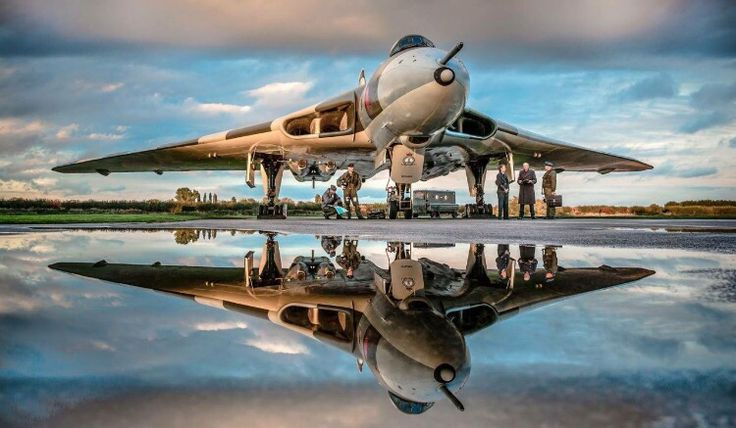 Royal Air Force Avro Vulcan.