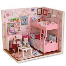 Kits de hágalo usted mismo De Madera Casa de muñecas en miniatura Muebles De Casa De Muñecas De Regalo el primer momento de la vida