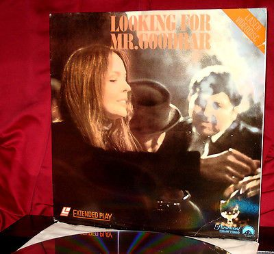 'LOOKING FOR MR. GOODBAR' on Laser Disc - KEATON, GERE - VG - Not on DVD