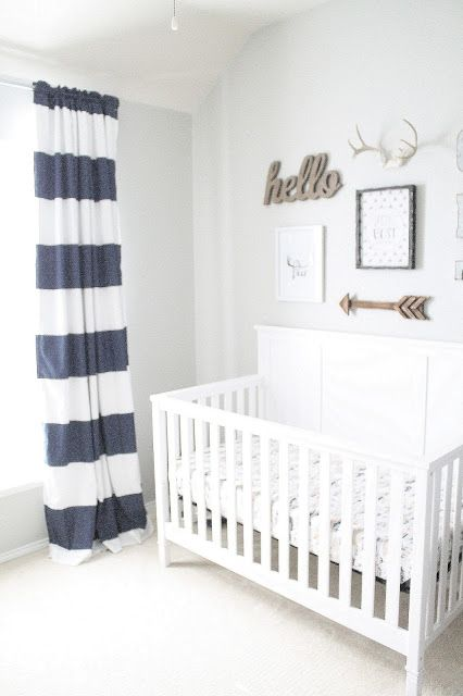 I am so excited to finally reveal Graham's nursery.Better late than never!I started out his room with one vision in mind and it ended up...