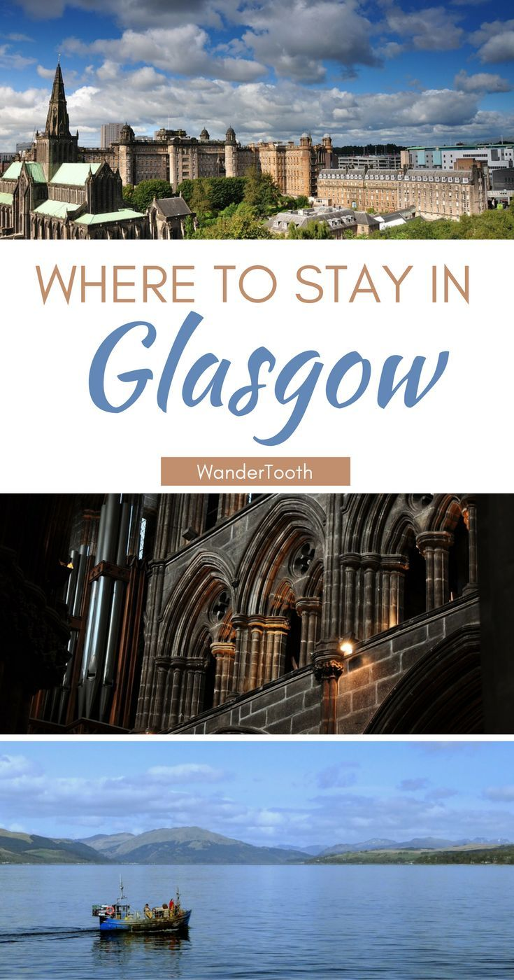 Where to stay in Glasgow, Scotland: all you need to know about Glasgow's best neighborhoods. Tips and recommendations for places to stay in Glasgow. | Glasgow Travel Tips | Glasgow city guide