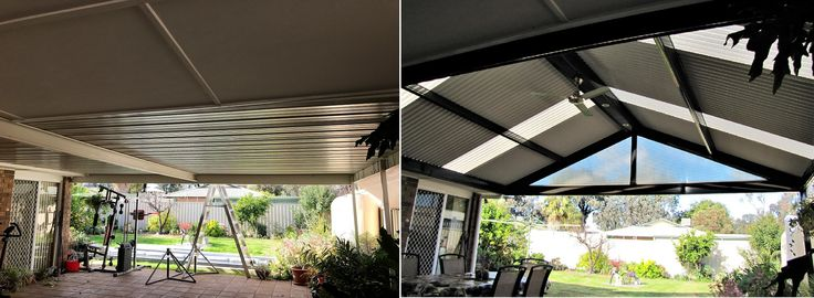 Pergola / Verandah photo before and after
