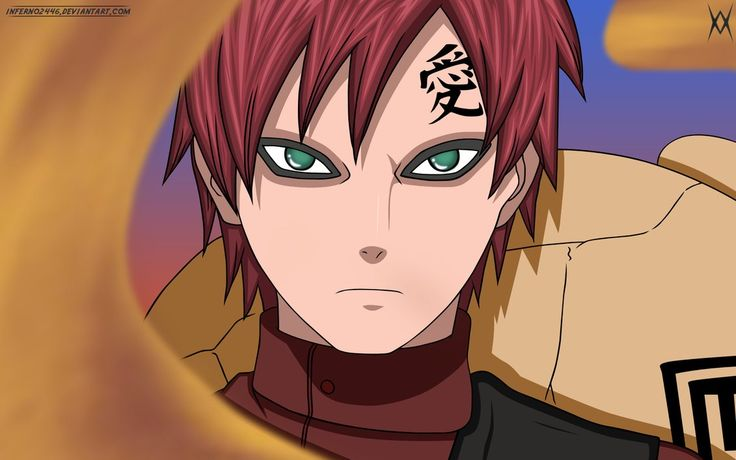 Gaara. Best character arc.  He starts out as this totally awesome, really scary villain.  But then, he completely changes to one of the best heroes of the whole show.  His transformation is totally believable and is handled magnificently.  I can still remember being so excited and surprised when I saw that he had come to rescue Rock Lee!