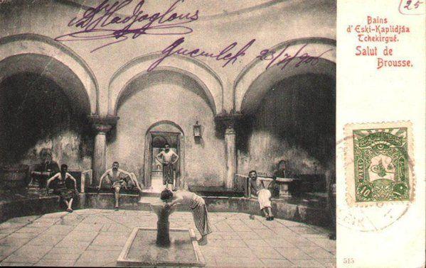 Çekirge eski kaplıca,Bursa 1906